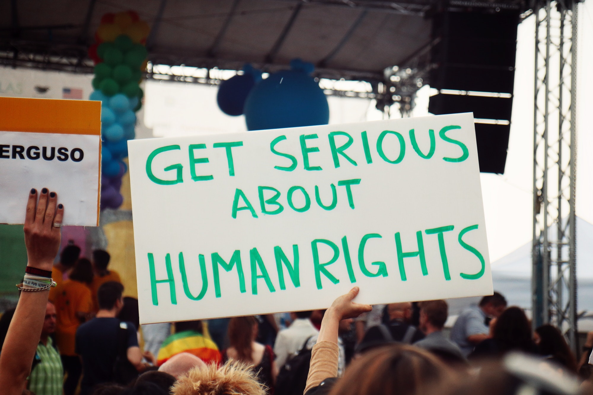 Get serious about human rights